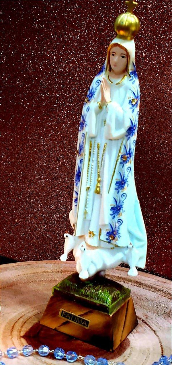 Nossa Senhora de Fátima 19 cm Importada