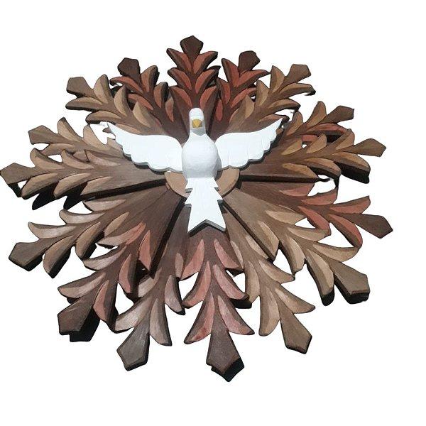 Divino de Madeira 60 cm