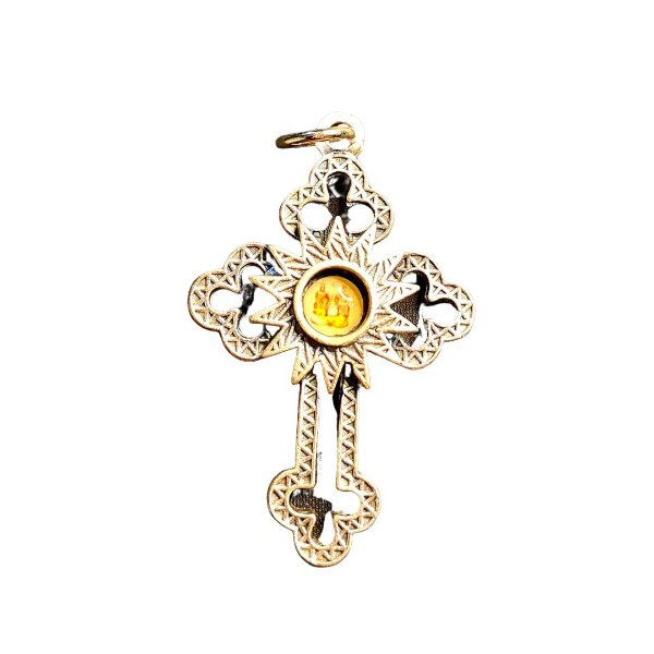 Pingente Crucifixo Divino Pai Eterno