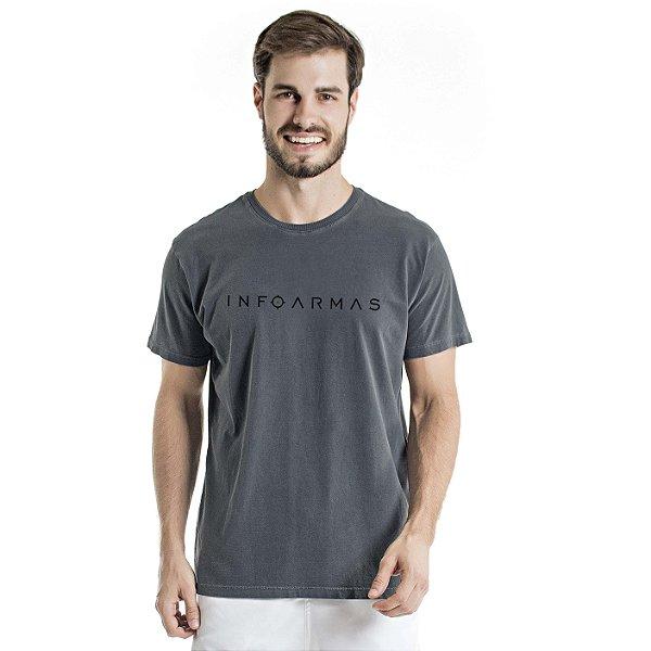 Camiseta Estonada InfoArmas Chumbo