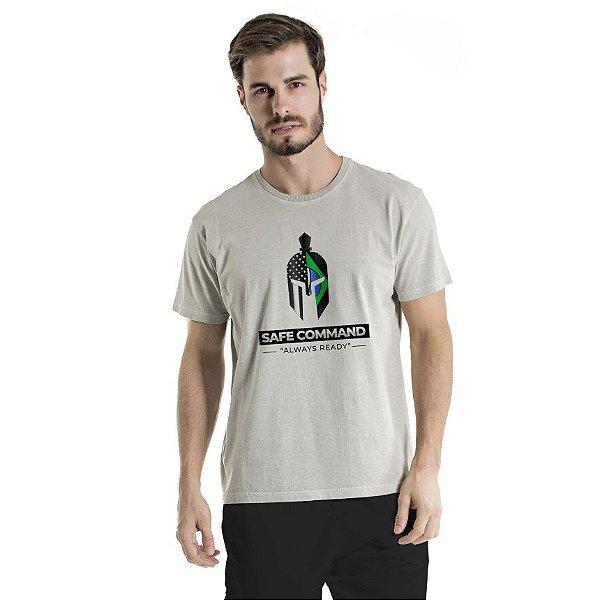 Camiseta Estonada Always Ready Cinza