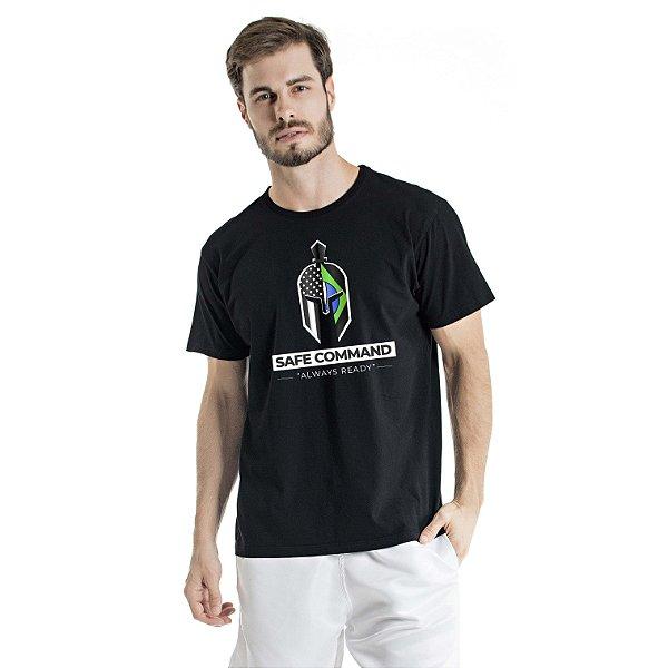 Camiseta Estonada Always Ready Preta