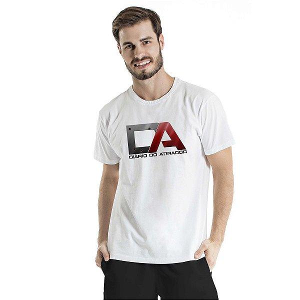 Camiseta Estonada Diário do Atirador Branca