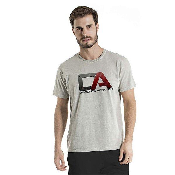 Camiseta Estonada Diário do Atirador  Cinza