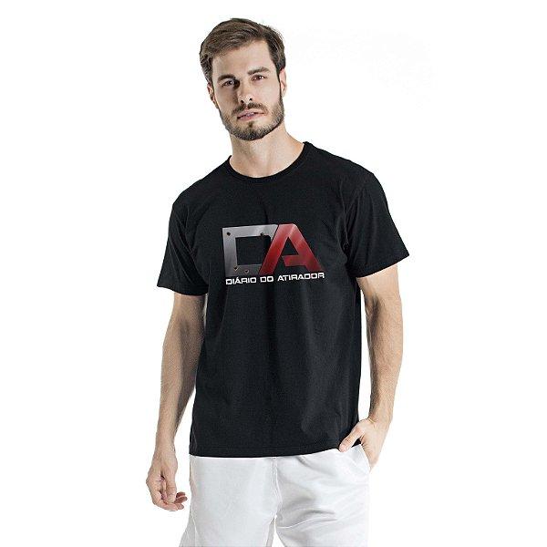 Camiseta Estonada Diário do Atirador Preta