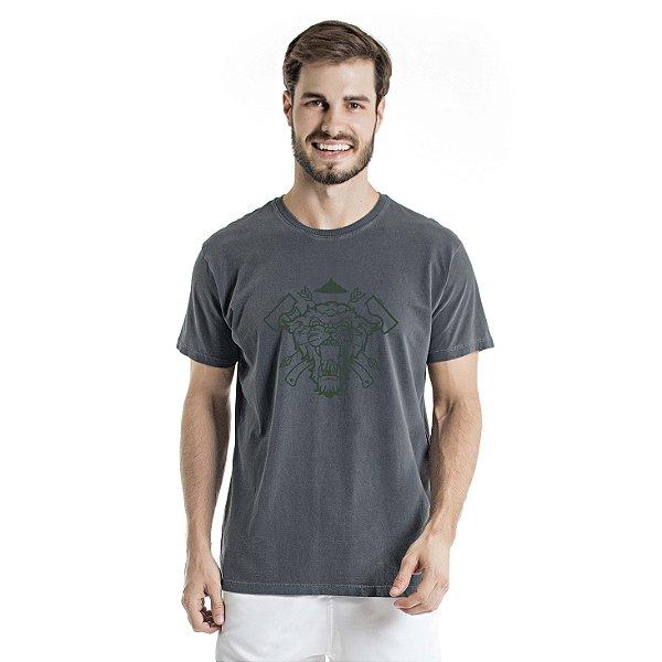 Camiseta Estonada Sobrevivência em Mata Chumbo