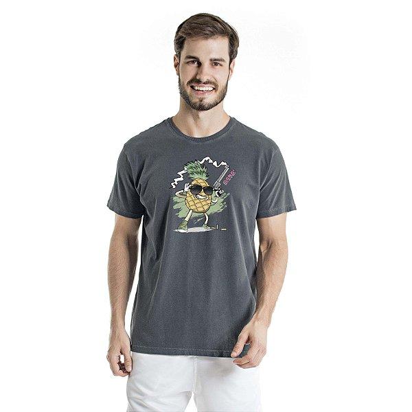 Camiseta Estonada Pineapple Atirador Chumbo