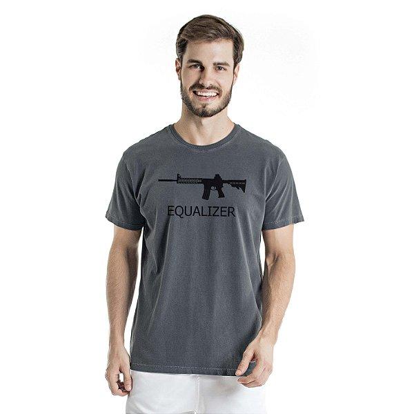 Camiseta Estonada Equalizer Chumbo