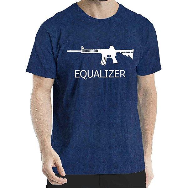 Camisa Estonada Equalizer Sky Marinho