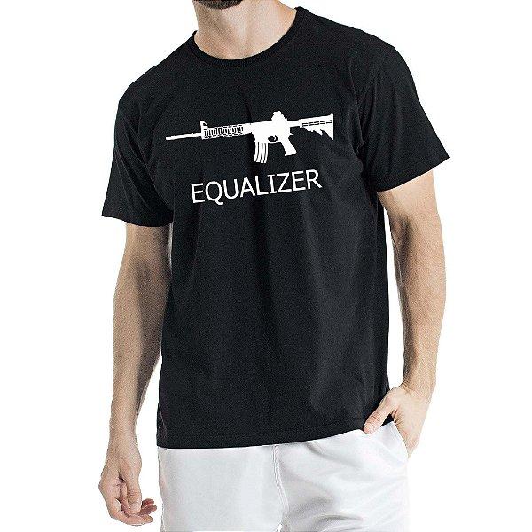 Camisa Estonada Equalizer Preta