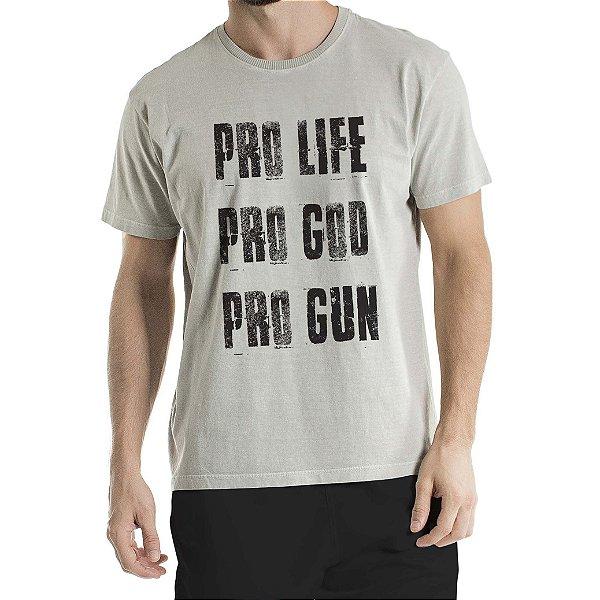 Camisa Estonada Pro Cinza
