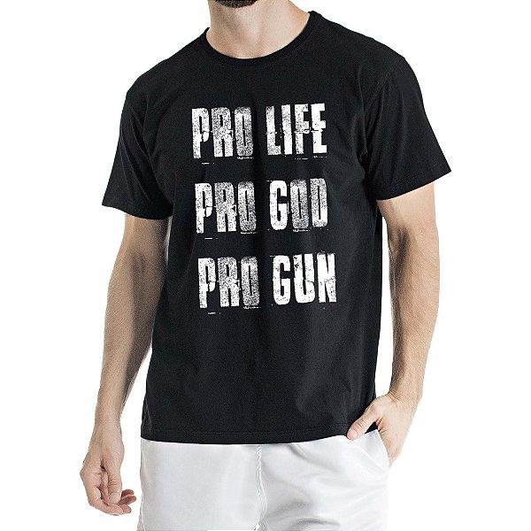 Camisa Estonada Pro Preta