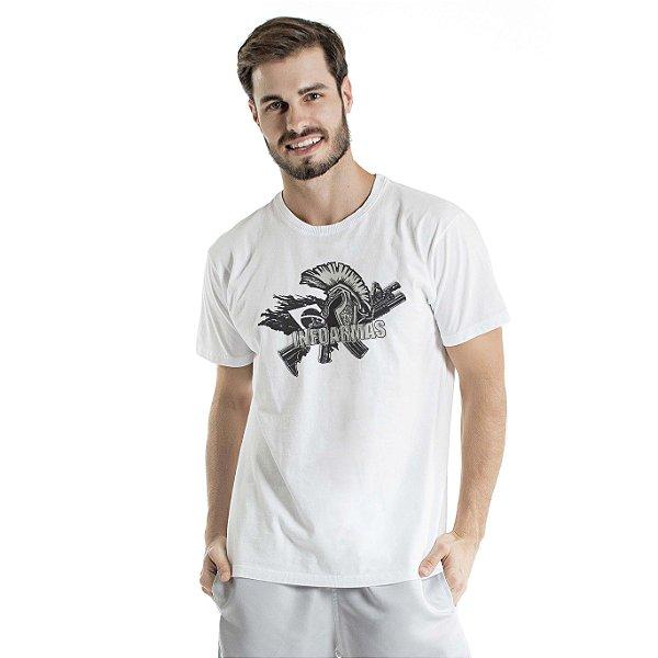 Camiseta Estonada Spartan Branca