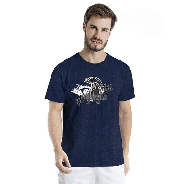 Camiseta Estonada Spartan Marinho Sky