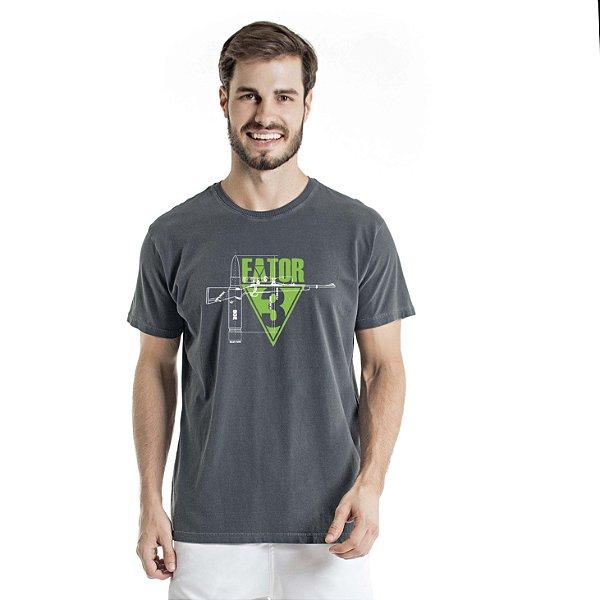 Camiseta Estonada Fator Chumbo