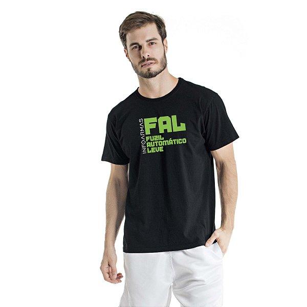 Camiseta Estonada Fal Preta