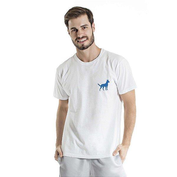 Camiseta Estonada Sheep Dog Branca