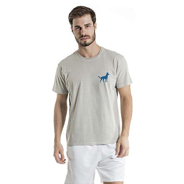 Camiseta Estonada Sheep Dog Cinza