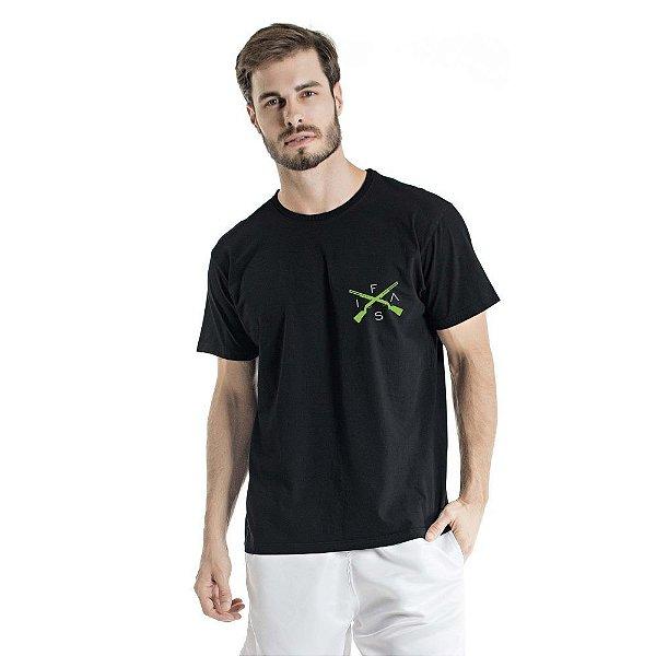 Camiseta Estonada Info Brazil Preta