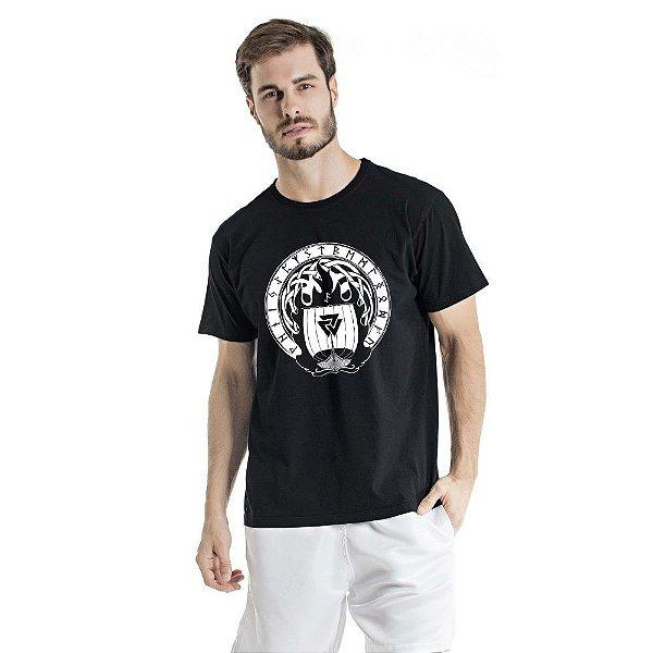 Camiseta Estonada Valhalla Preta
