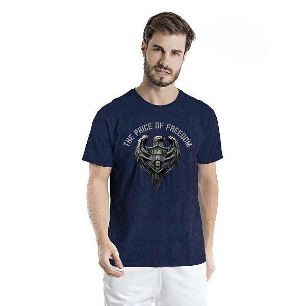 Camiseta Estonada The Price Of Freedom Marinho Sky