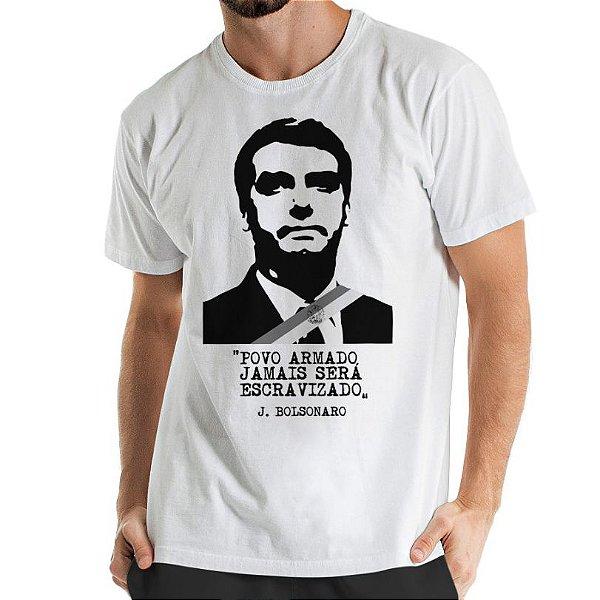 Camisa Estonada Povo Escravizado Branca