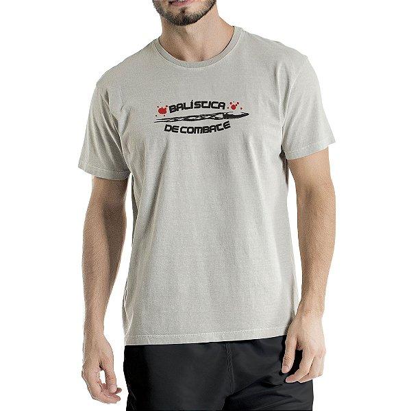 Camiseta Estonada Cinza Combate