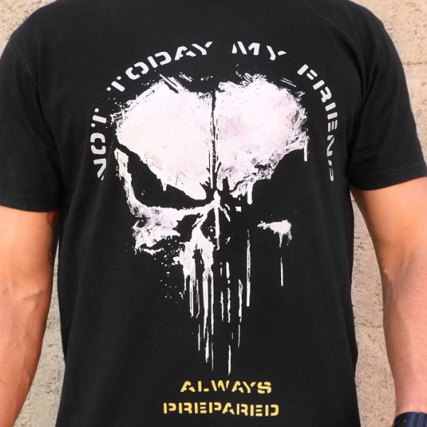 Camiseta Not Today My Friend Preta