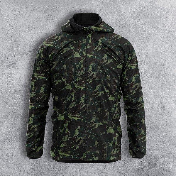 Jaqueta Corta Vento Masculino Camuflado Militar