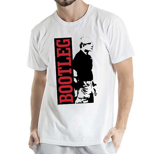 Camisa Estonada BOOTLEG Humberto Wendling Branca