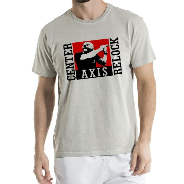 Camisa Estonada CENTER AXIS RELOCK Humberto Wendling Cinza