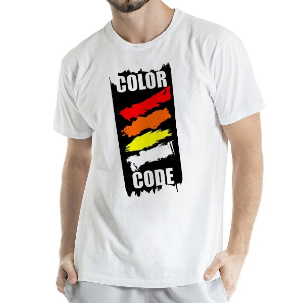 Camisa Estonada COLOR CODE Humberto Wendling branca