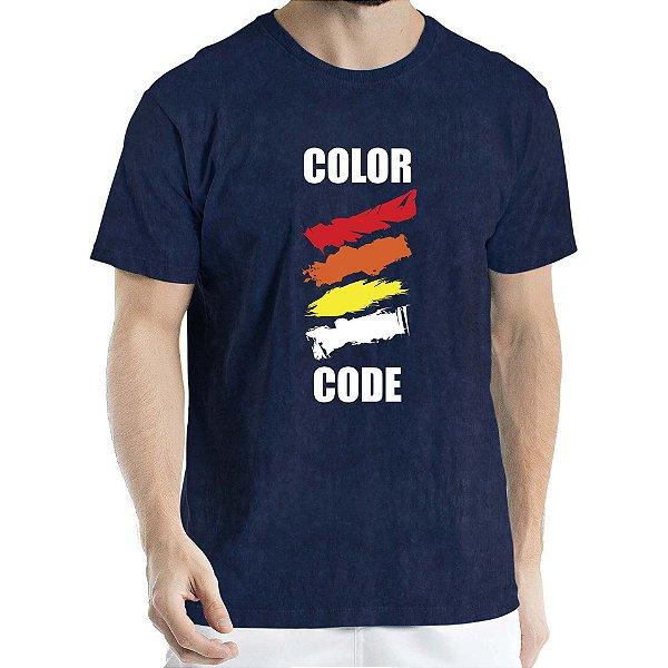 Camisa Estonada COLOR CODE Humberto Wendling Marinho Sky
