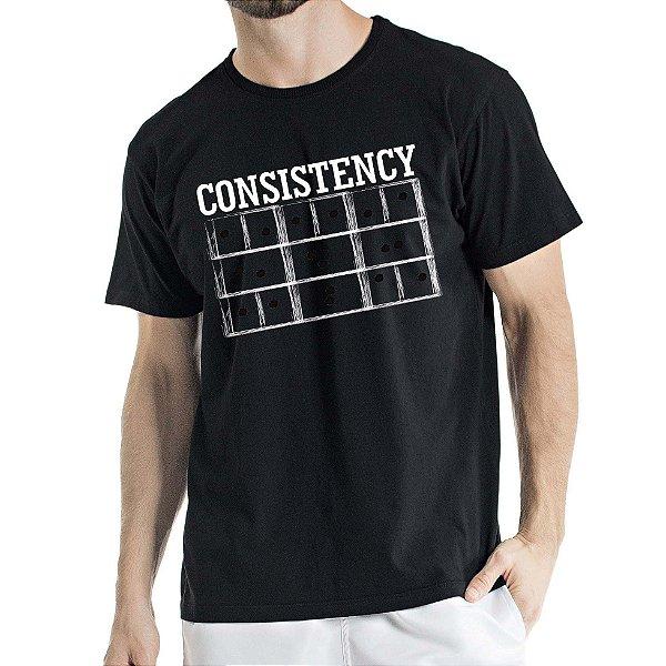 Camisa Estonada Consistency Humberto Wendling Preta