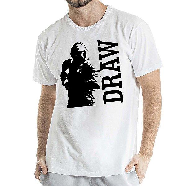 Camisa Estonada DRAW Humberto Wendling Branca
