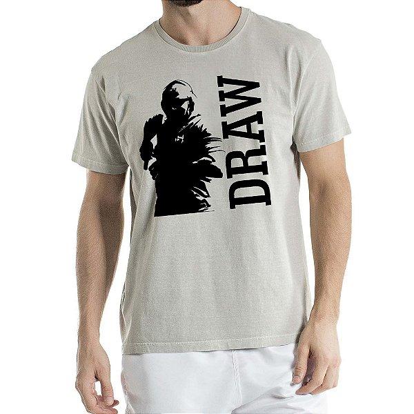 Camisa Estonada DRAW Humberto Wendling Cinza