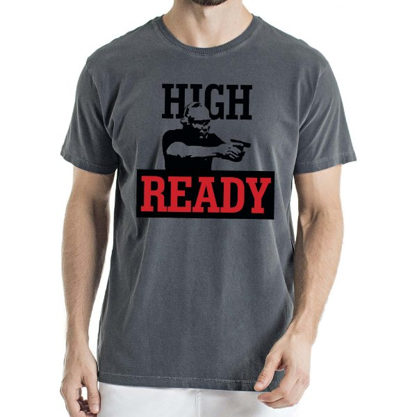 Camisa Estonada High Ready Humberto Wendling Chumbo