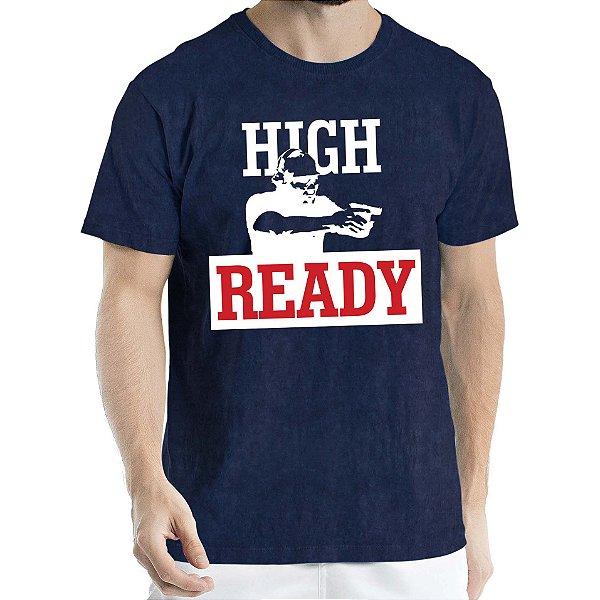 Camisa Estonada High Ready Humberto Wendling Marinho Sky