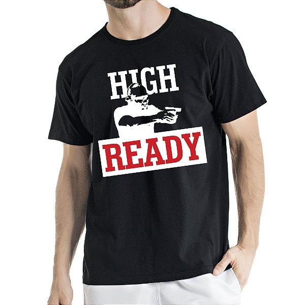 Camisa Estonada High Ready Humberto Wendling Preta