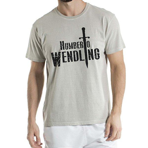 Camisa Estonada Humberto Wendling Cinza