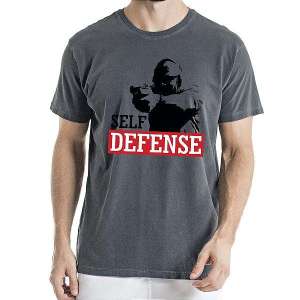 Camisa Estonada Self Defense Humberto Wendling Chumbo