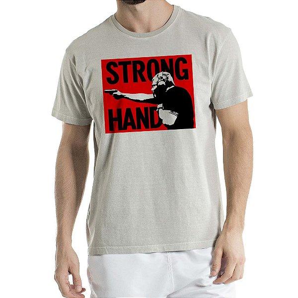 Camisa Estonada Strong HandHumberto Wendling Cinza