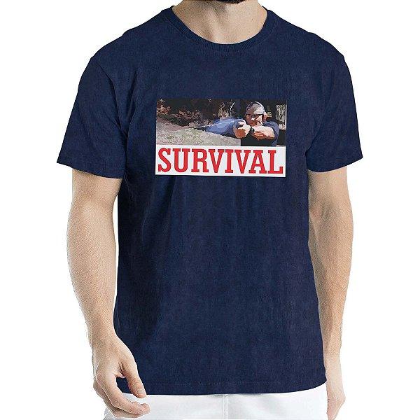 Camisa Estonada Survival Humberto Wendling Marinho Sky