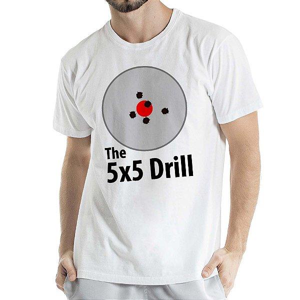 Camisa Estonada 5x5 Drill Humberto Wendling Branca