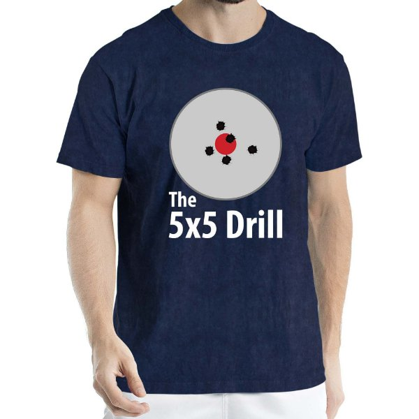 Camisa Estonada 5x5 Drill Humberto Wendling Marinho Sky
