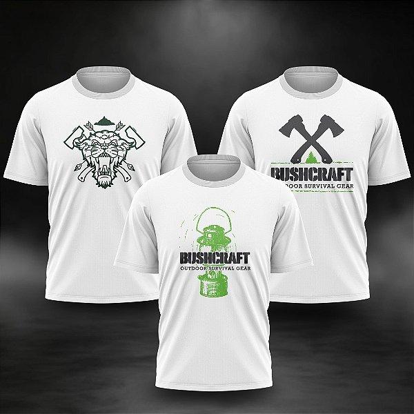 Kit 3 Camisetas Survivor