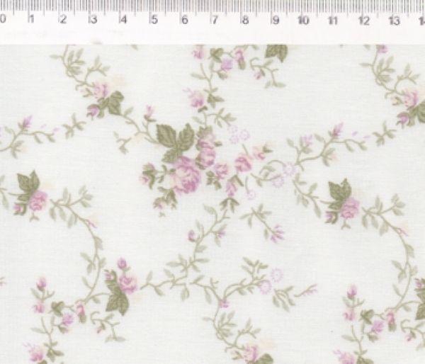 Tecido Floral Sarah Rosa 00167C06