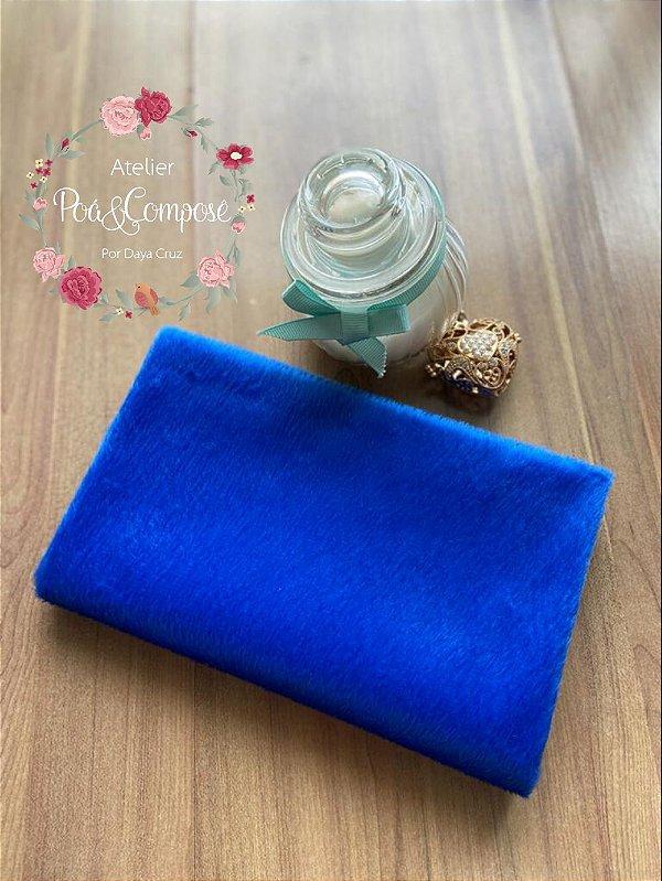 Velboa Azul Royal 50x80