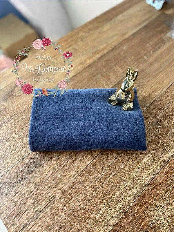 Plush cor Azul Jeans 50x80
