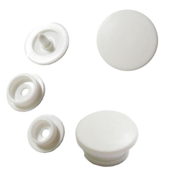 Botão Rita cor Branco (Tam. 10)